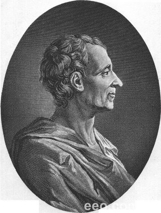 法国启蒙思想家、法学家 孟德斯鸠