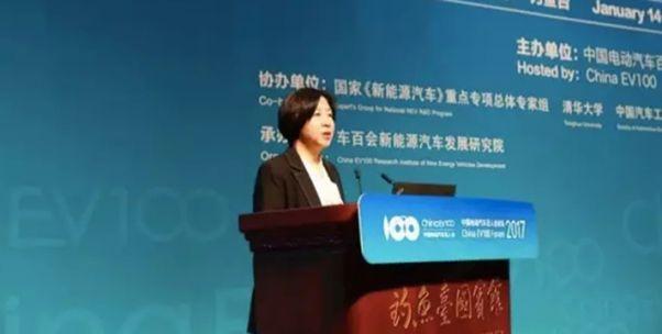 宋秋玲:财政部最初计划取消新能源地方补贴