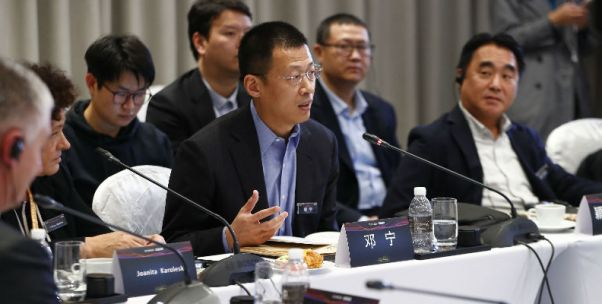 全球商业领袖早餐会|英格索兰邓宁:中国依然是增长最强劲的市场之一