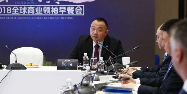 全球商业领袖早餐会|瓦里安张晓:人工智能将极大改变中国的医疗健康行业
