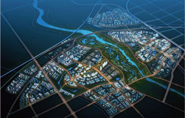 图片6西安国际社区鸟瞰图