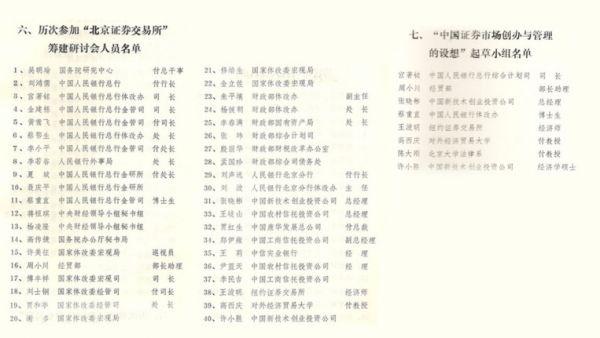 """(图:从""""设计小组""""到""""联办"""",参与筹建中国股市的中坚力量一度达到上百人。其中不少人,日后都成了中国资本监管机构的核心骨干。)"""