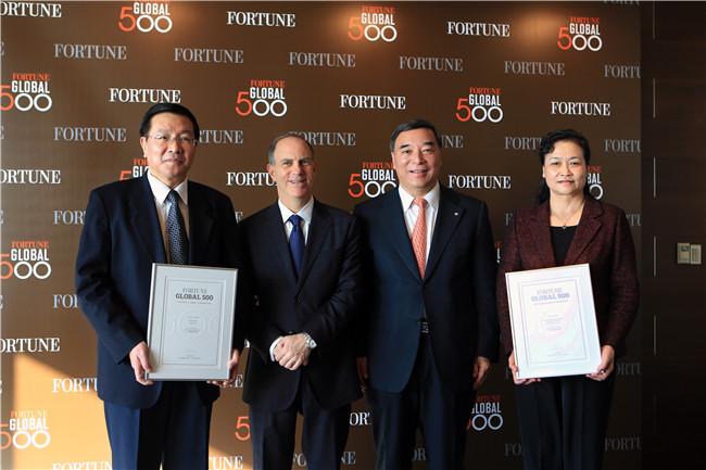 访谈配图6中国建材和国药集团同获世界500强,是中国企业做强做大的标志性事件