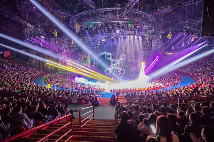 长隆国际大马戏,十几年持续火爆,堪称中国第一演艺品牌_副本