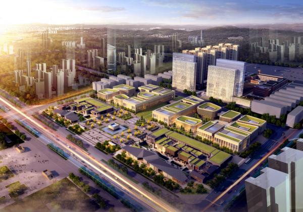 沣东新城正在打造文化创意产业高地