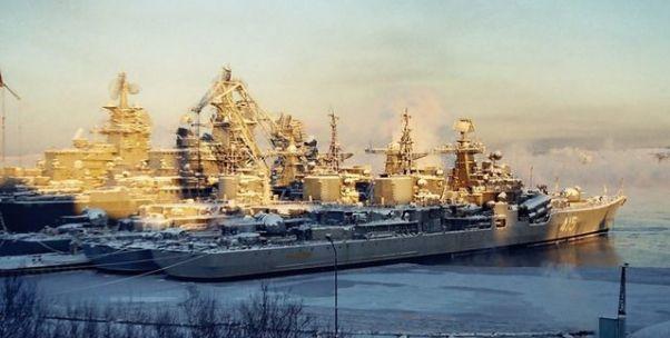 莫斯科送來了巡洋艦