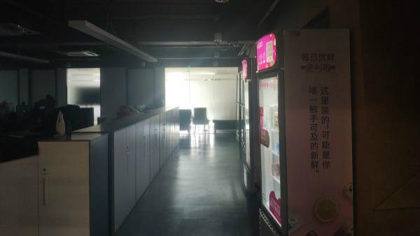 图11:暴风集团总部无人办公(王方圆 摄)