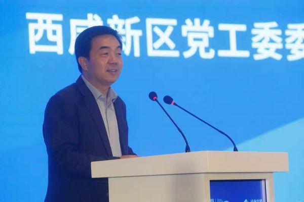 西咸新区党工委委员、管委会副主任亢振峰