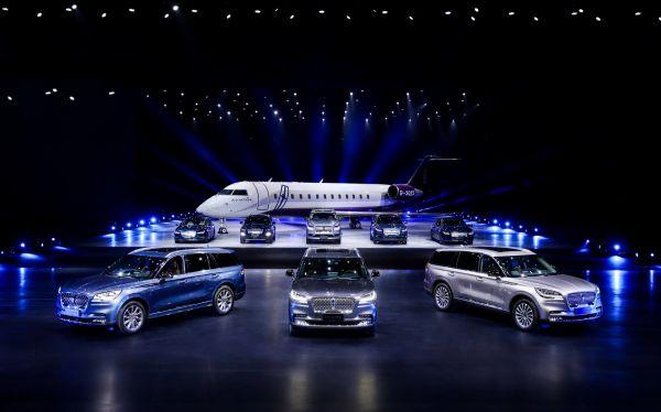 林肯品牌全系车型亮相