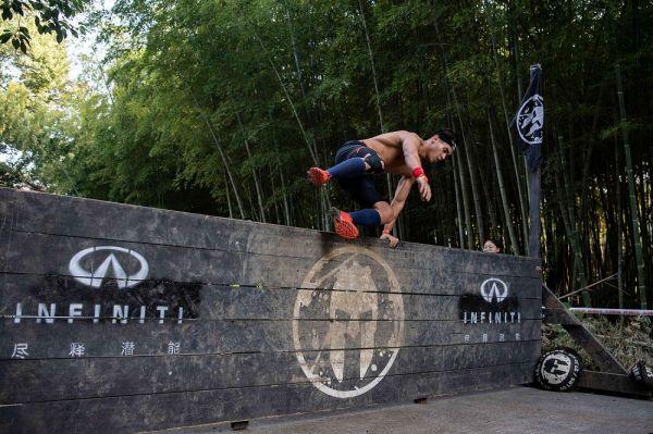 英菲尼迪斯巴达勇士杭州站2