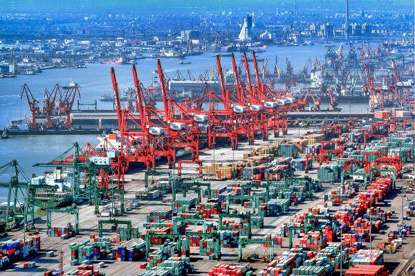 天津港太平洋國際集裝箱碼頭-2018年天津港貨物吞吐量達5.08億噸