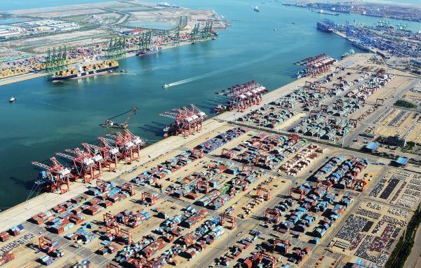 天津港集装箱码头群