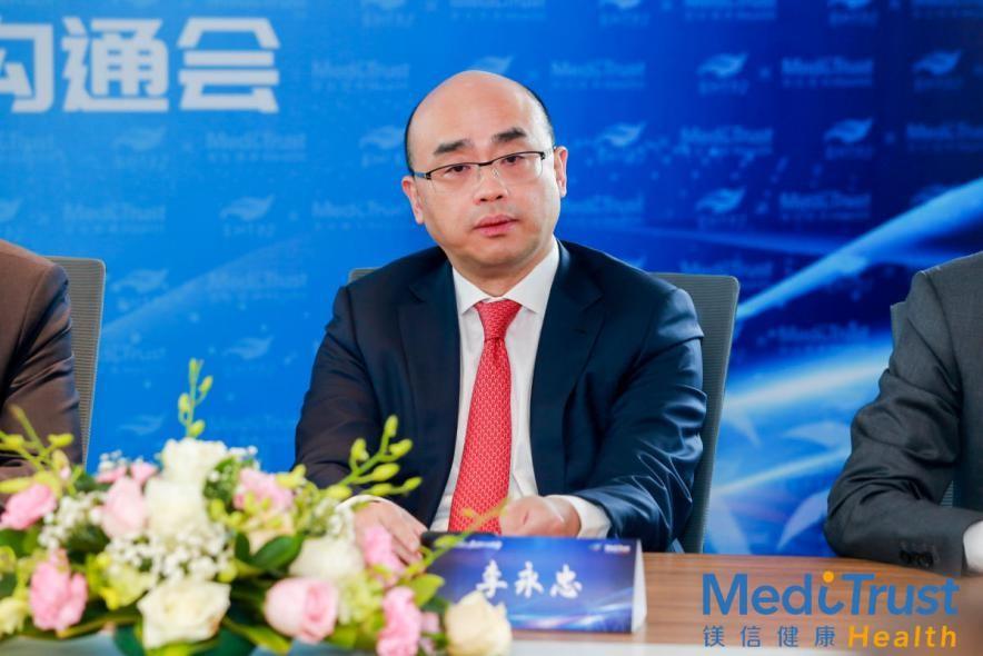 上药控股总经理李永忠