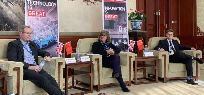 瞄上中国新能源市场大蛋糕 三家英国企业漂洋过海求合作