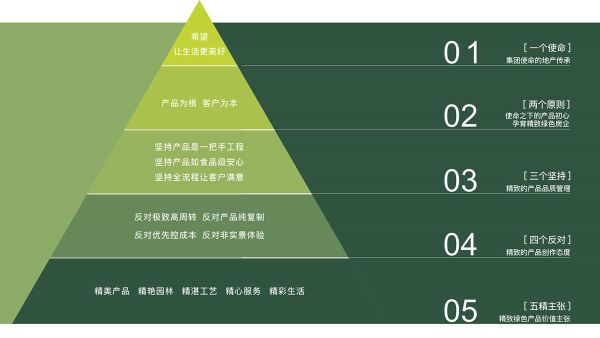 图07 新希望地产产品金字塔