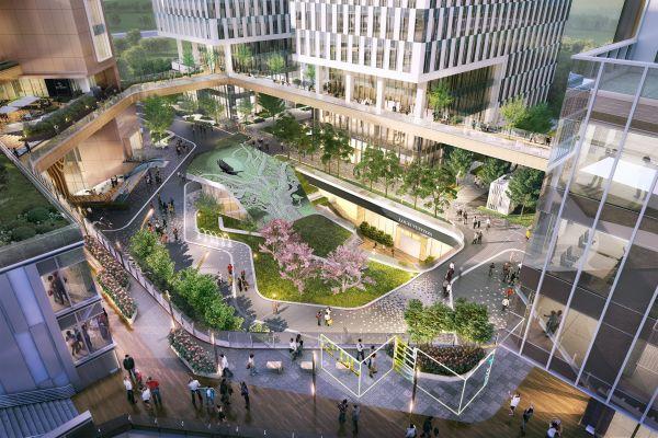 项目下沉广场