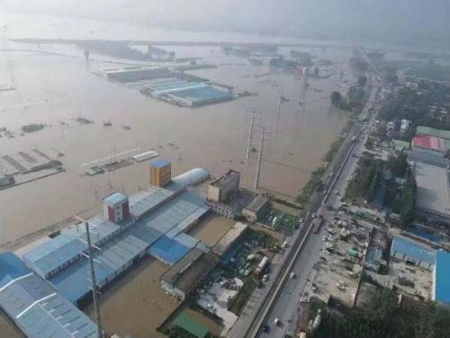 图6:卫辉下属村镇的受灾状况