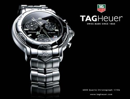 TAG Heuer泰格豪雅作为赛车